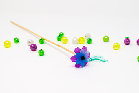 DIY Stirrers Flower Stirrer