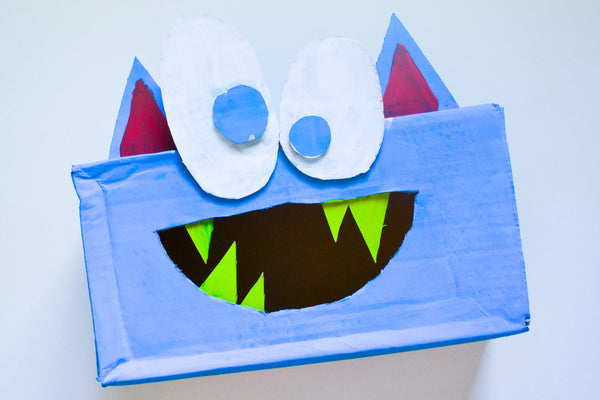 Kid Made Modern The Hungry Monster Game DIY