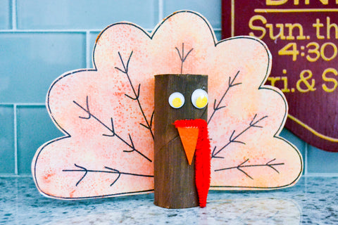 DIY Thanksgiving Turkey - Kid Made Modern