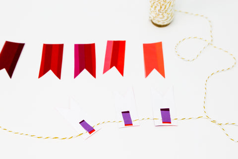 Duct Tape Garland 3