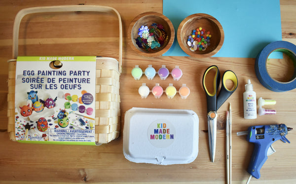 Egg Painting Craft Supplies