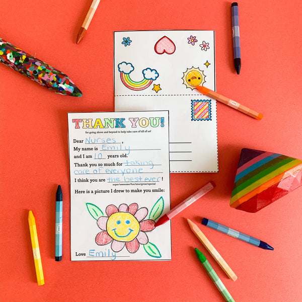 FREE Gratitude Letter Coloring...