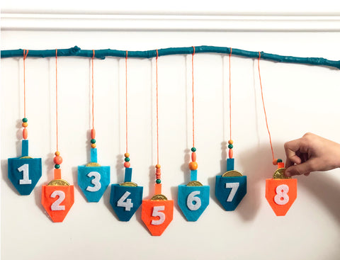 DIY Hanukkah Countdown Step 8