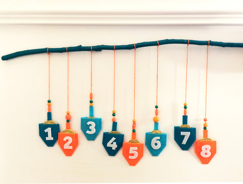 DIY Hanukkah Countdown Done 1
