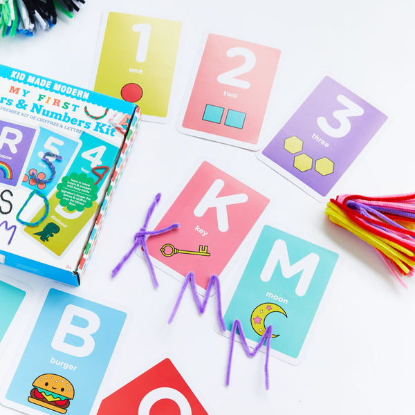 My First Letters And Numbers Kit