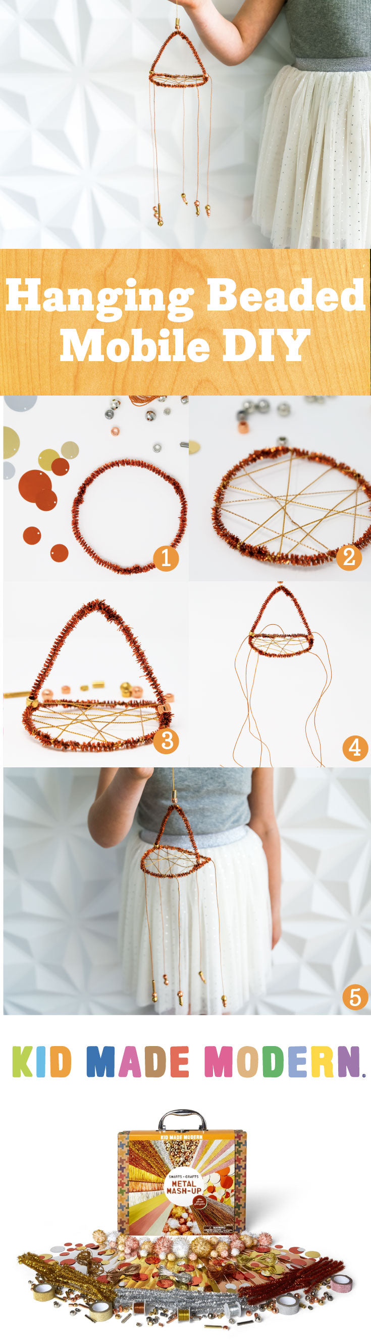 beaded mobile Pinterest