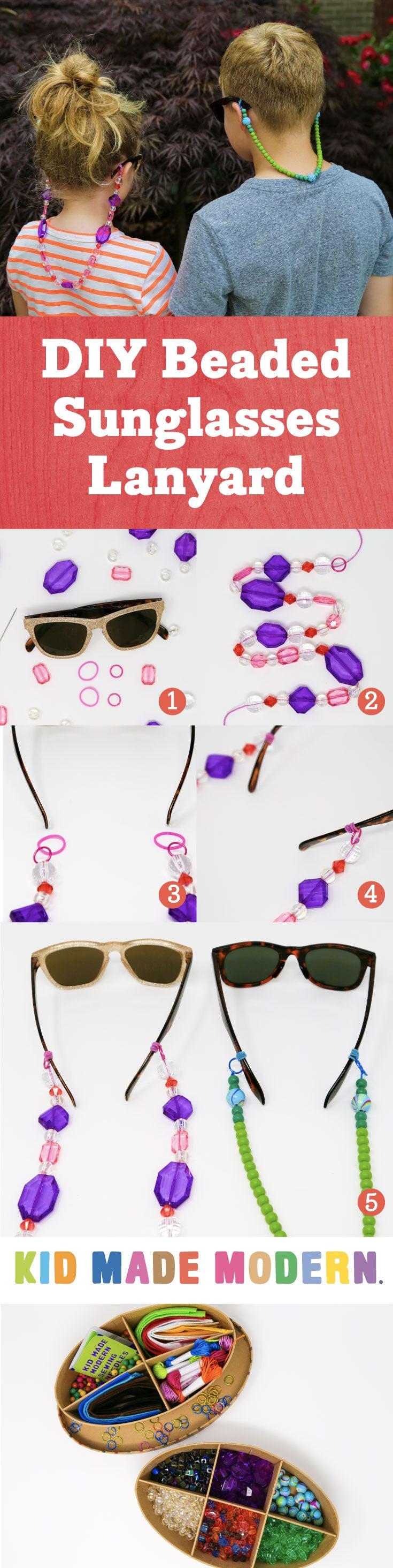 Beaded Sunglasses Lanyard Pinterest