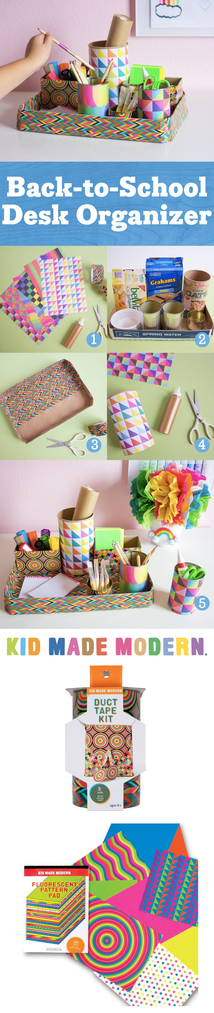 Desk Organizer Pinterest