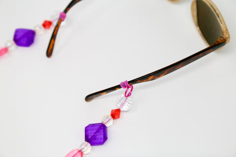 Beaded Sunglasses Lanyard Step 3
