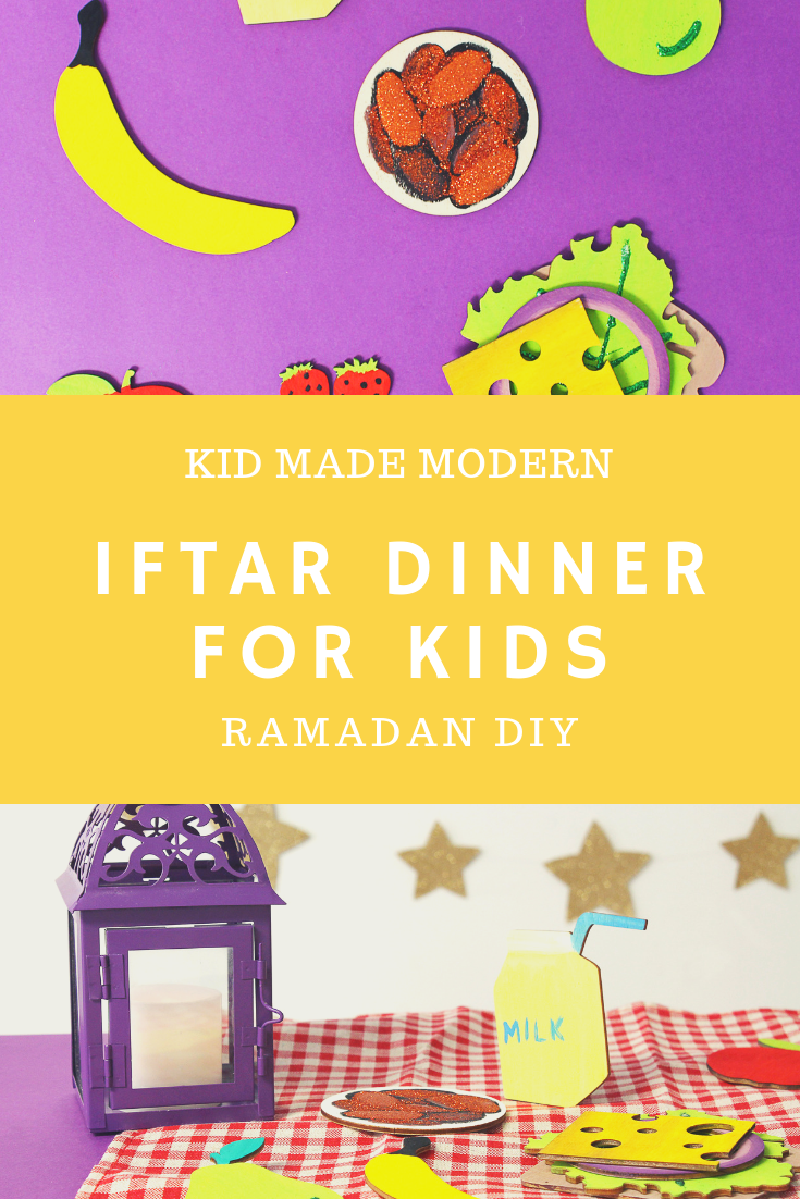Pretend Iftar Dinner for Kids