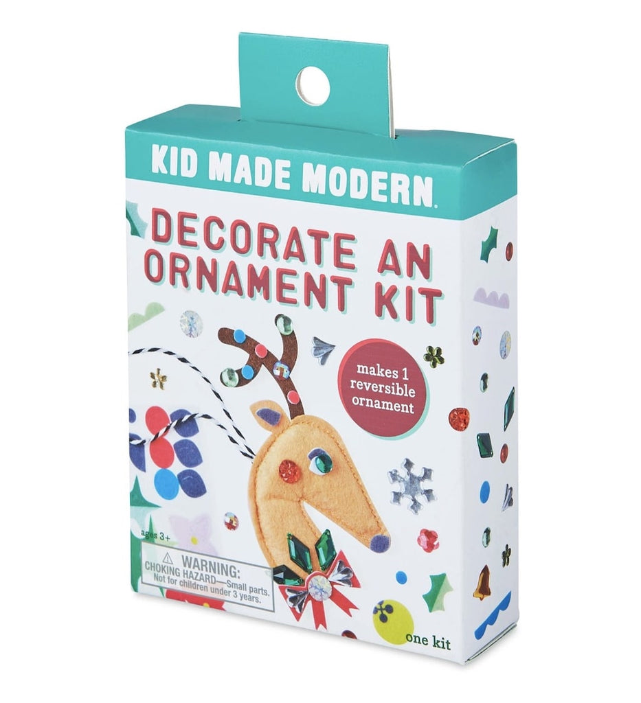 Reindeer decorate ornament kit