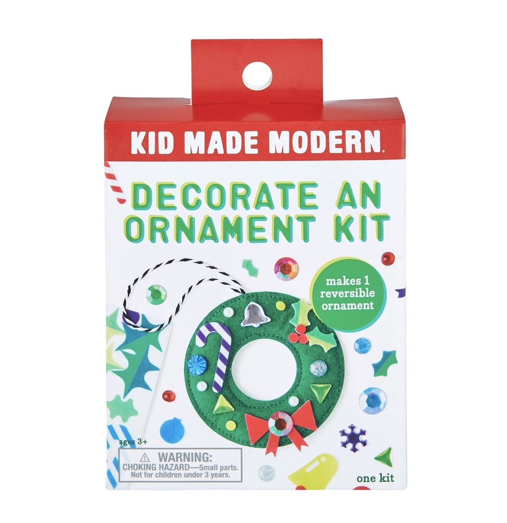 Wreath decorate an ornament kit