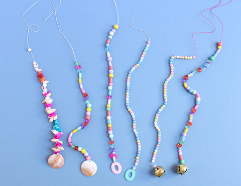 Beach Bash Beaded Wind Chime Step 2