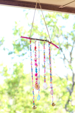 Beach Bash Beaded Wind Chime done