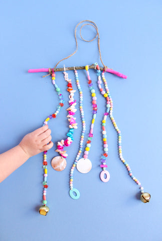 Beach Bash Beaded Wind Chime Step 4