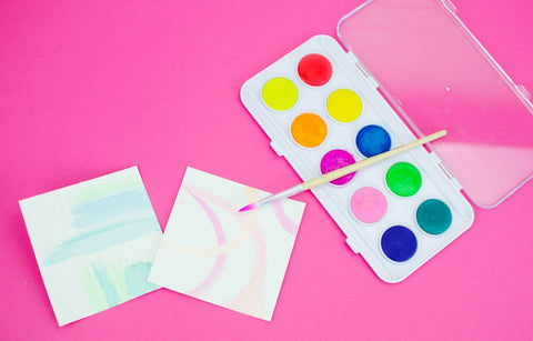 DIY Coasters Watercolor