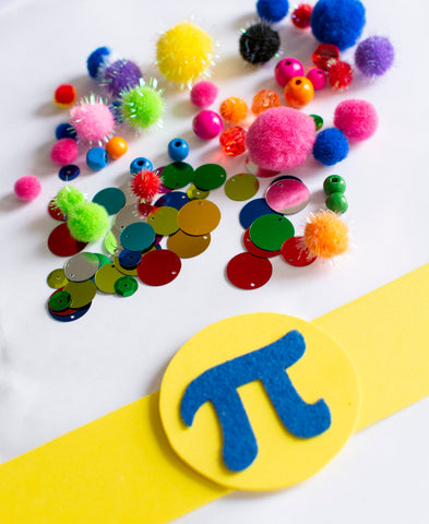 Pi Day Headbands DIY