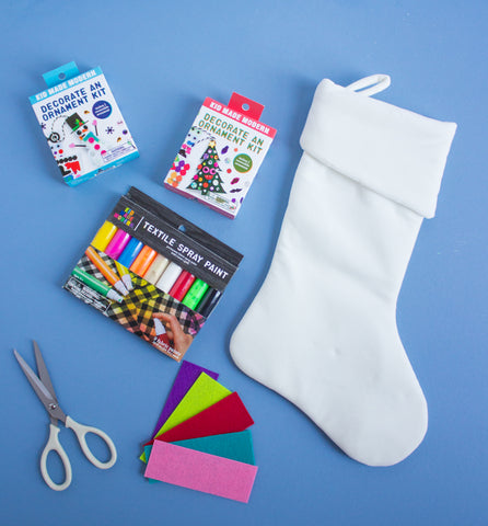 Diy Christmas Stockings Kid Made Modern