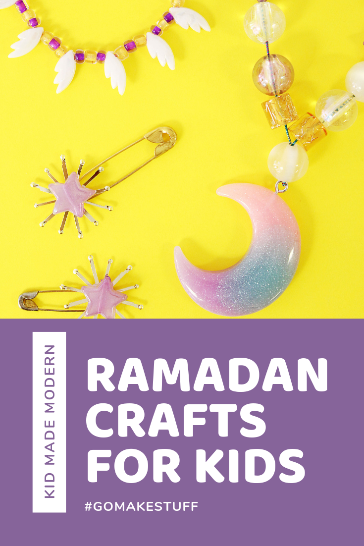 Ramadan Jewelry Craft for Kids by Kid Made Modern