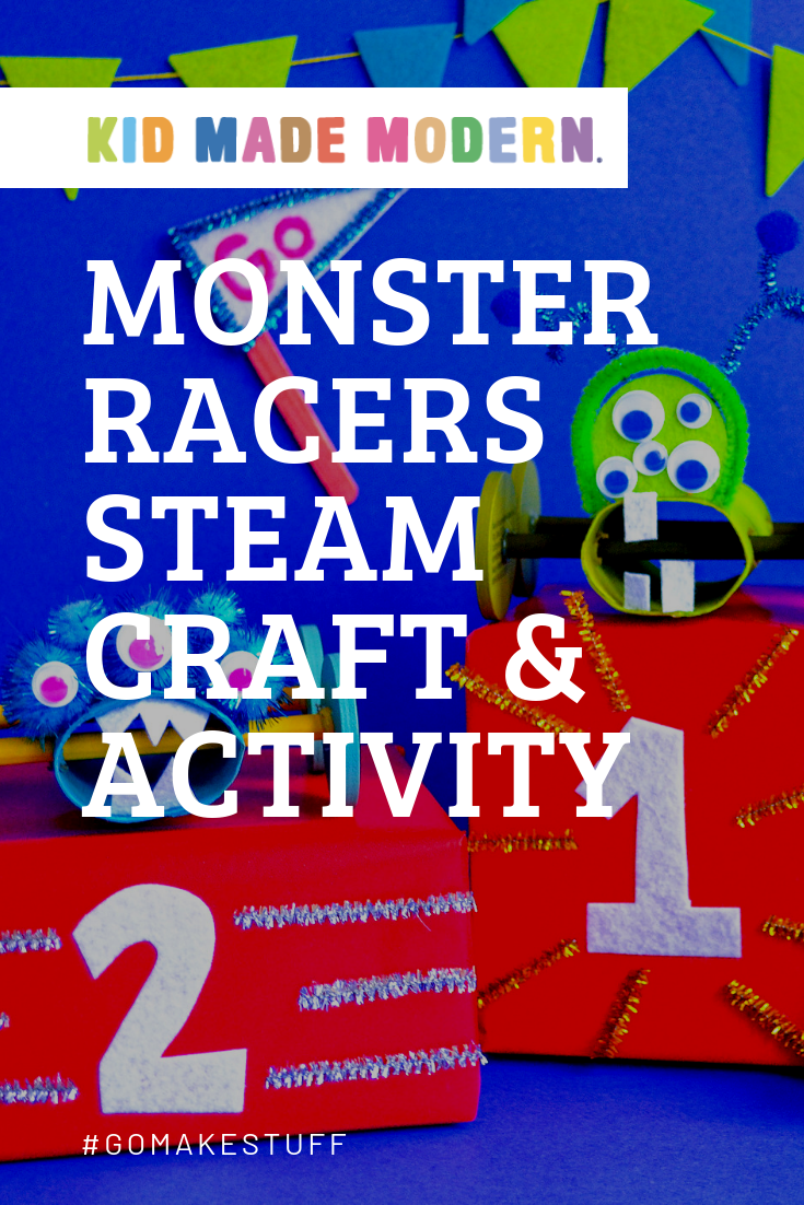 Monster racers STEAM activity