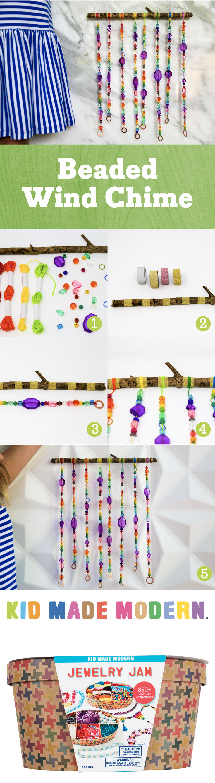 Beaded Wind Chime Pinterest