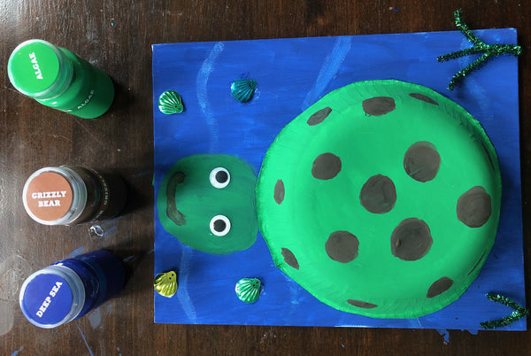 Turtle Craft Prompt inspired by Raven Hamby's graphic illustration