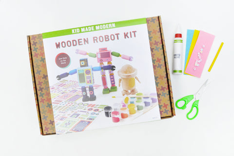 Robot Countdown Clock Supplies