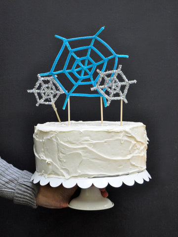 Spiderweb Cake Toppers Done 1