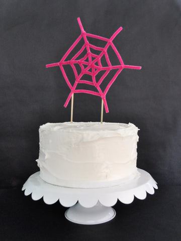 Spiderweb Cake Toppers Done 2