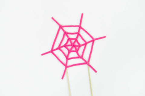 Spiderweb Cake Toppers Step 4