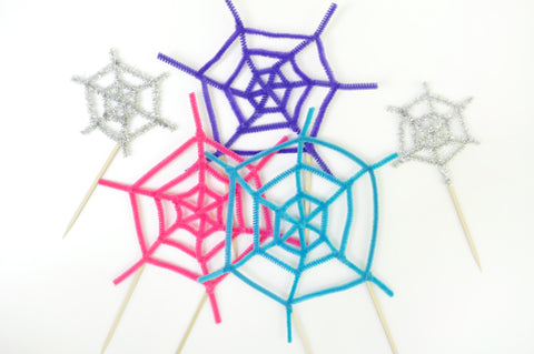 Spiderweb Cake Toppers Step 5