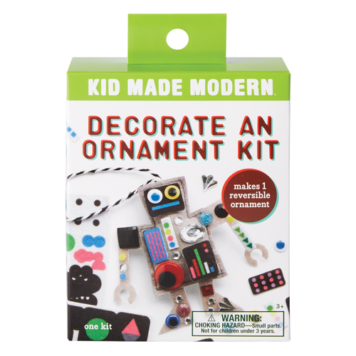 Decorate a Robot Ornament Kit 815219024880 $4.99 Kits Kid Made Modern $4.99