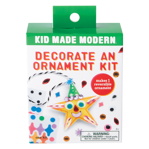 Decorate a Star Ornament Kit
