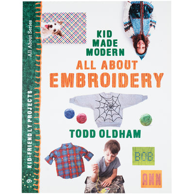 All About Embroidery Book