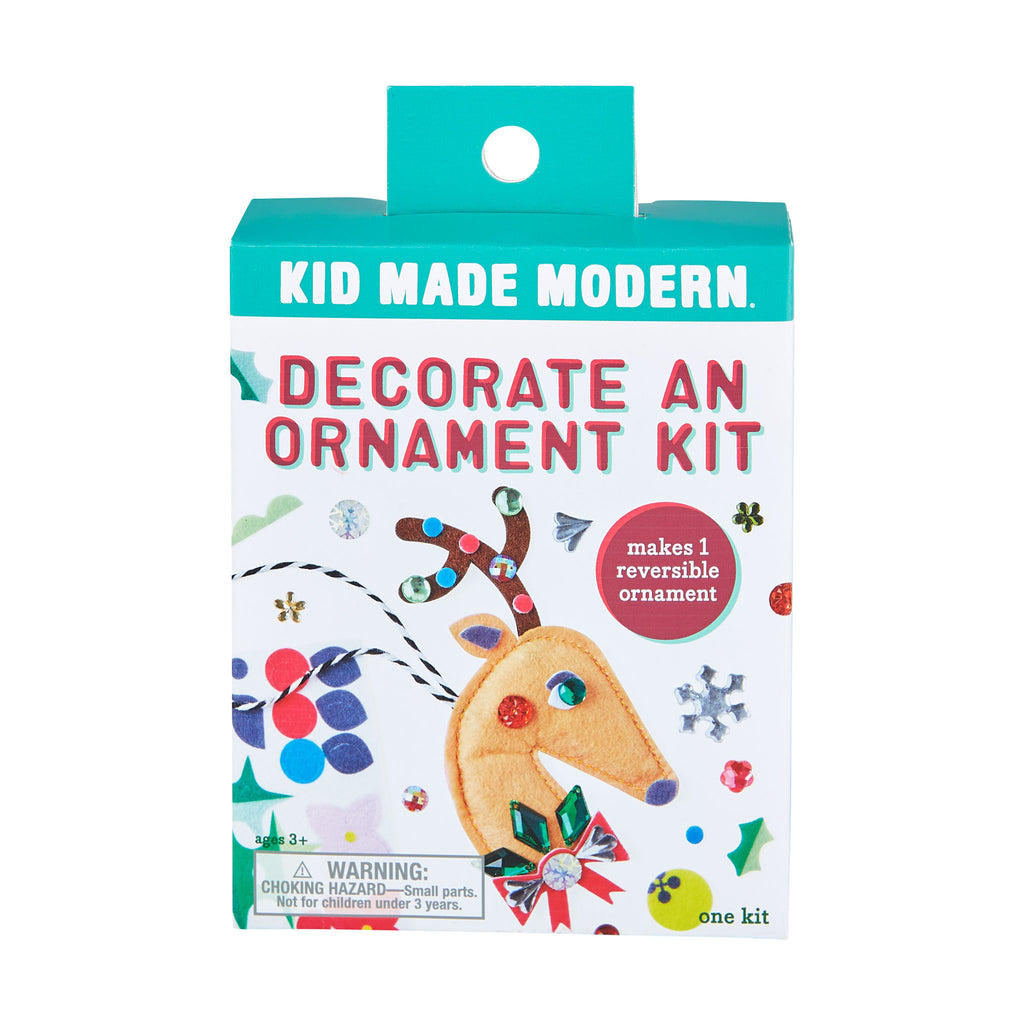 Decorate a Reindeer Ornament Kit