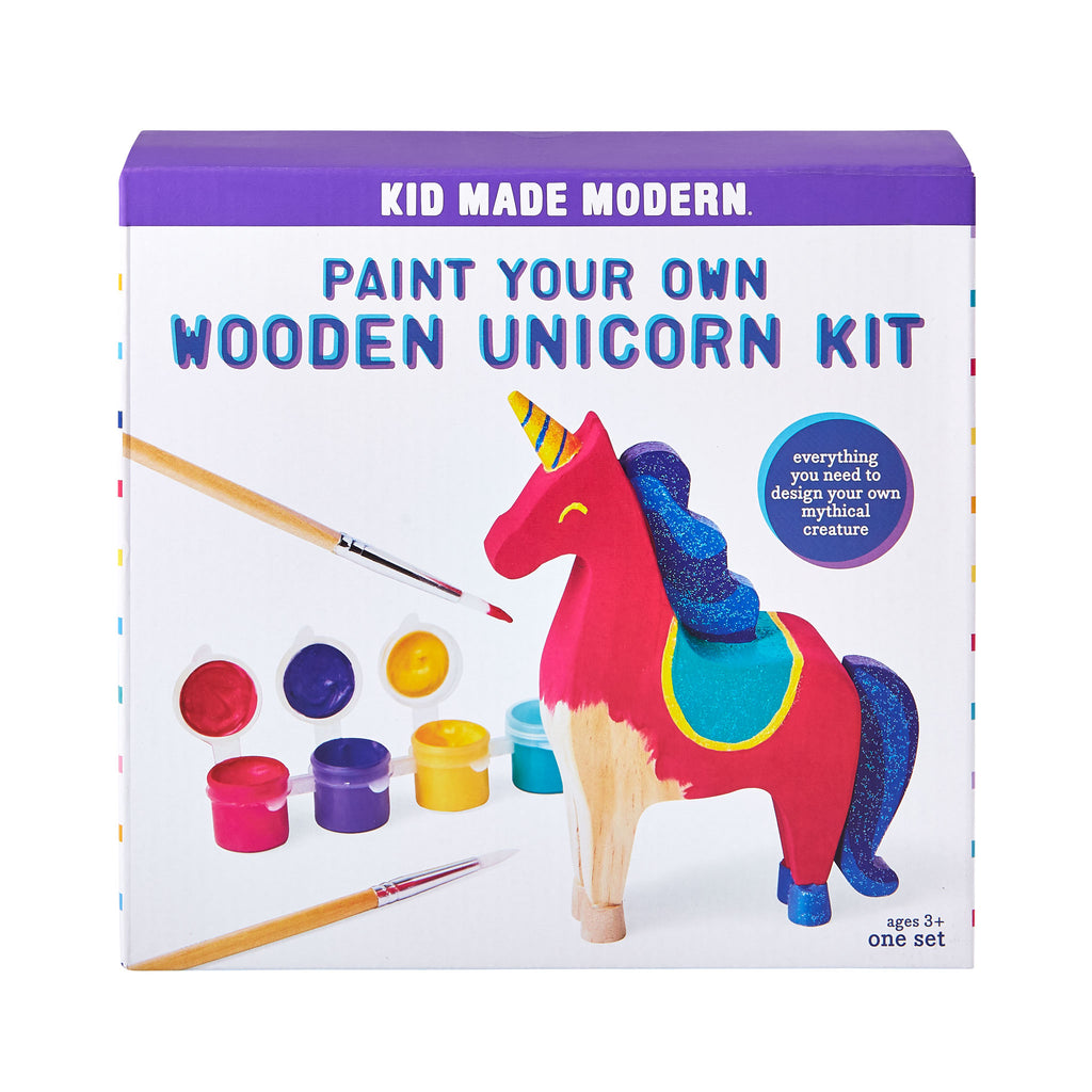 Paint Your Own Wooden Unicorn Kit