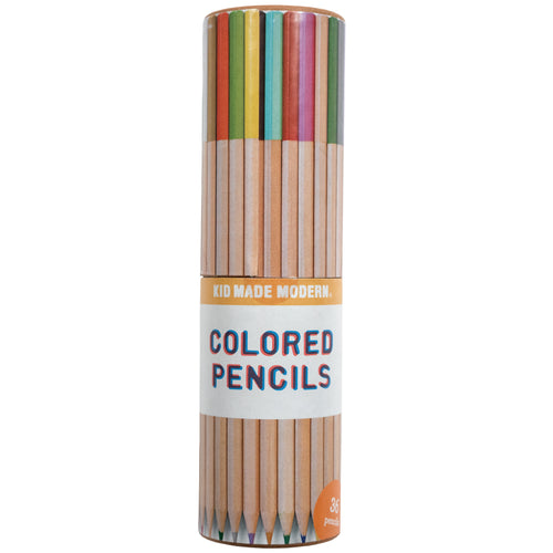 Colored Pencils 851224006152 $9.99 art supplies, artists, arts and crafts, color, colored pencils, colorful, colors, draw, gift, gifts, kid, kid made modern, kids craft, organization, pencil, pencils, professional quality pencils, rainbow, sketch, young artists Pencils Kid Made Modern $9.99