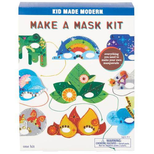 Make a Mask Kit 815219023821 $14.99 Kits Kid Made Modern $14.99