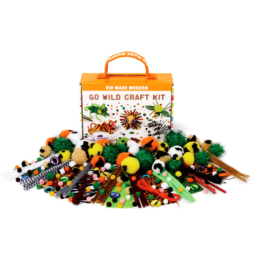 Go Wild Craft Kit 815219023845 $9.99 Kits Kid Made Modern $9.99