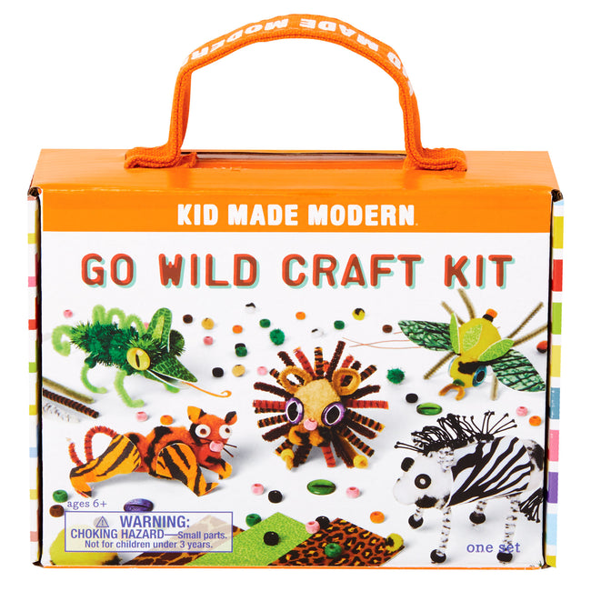 go wild craft kit kid made modern