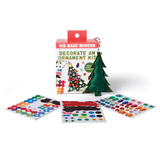Decorate A Christmas Tree Ornament Kit Kid Made Modern