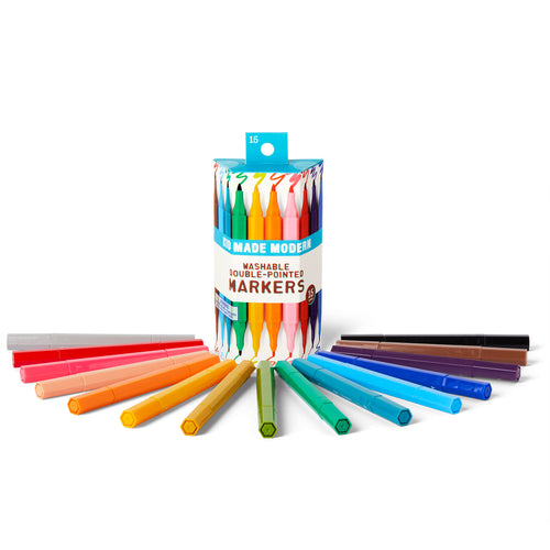 Washable Double Pointed Markers (Set of 15)
