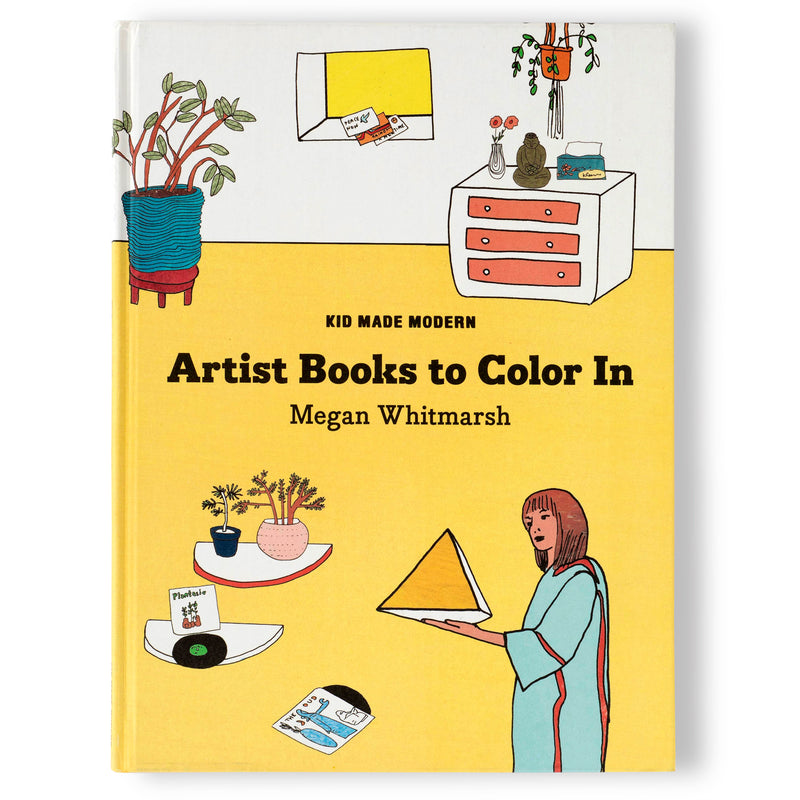 Hardcover Artist Books to Color In: Megan Whitmarsh