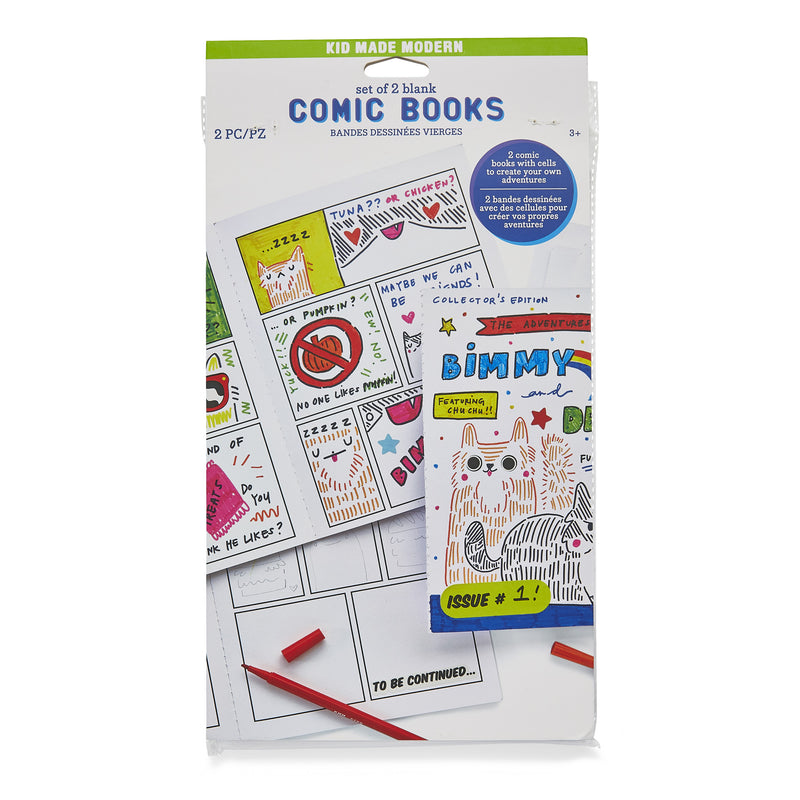 Comic Book Kit Refill (Set of 2)