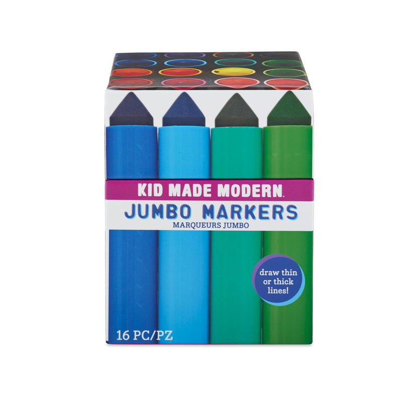 Jumbo Markers (Set of 16)