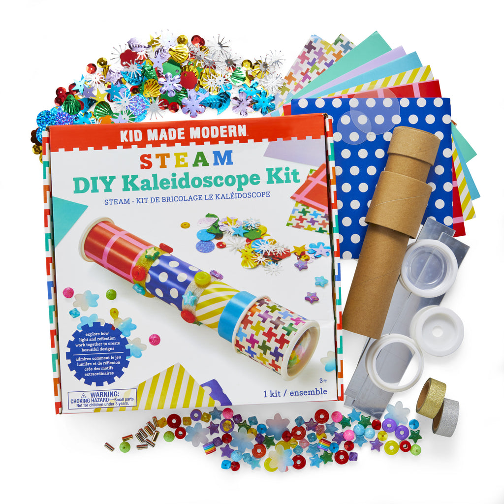 STEAM DIY Kaleidoscope Kit