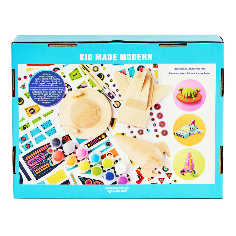 Wooden Spaceship Craft Kit