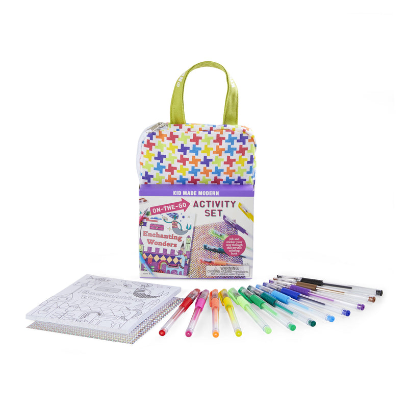 On-The-Go Enchanting Wonders Activity Set