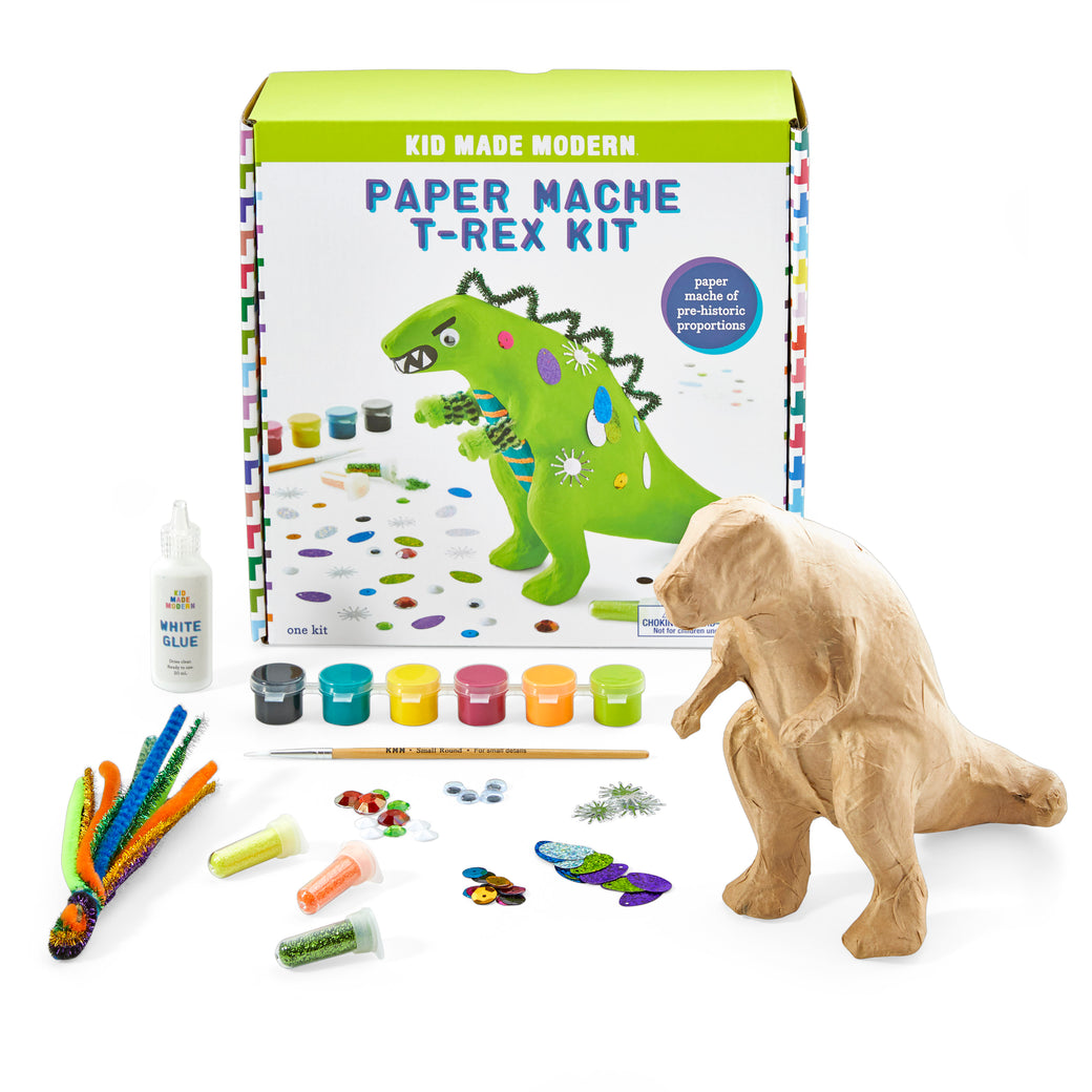 Image of Paper Mache T-Rex Kit