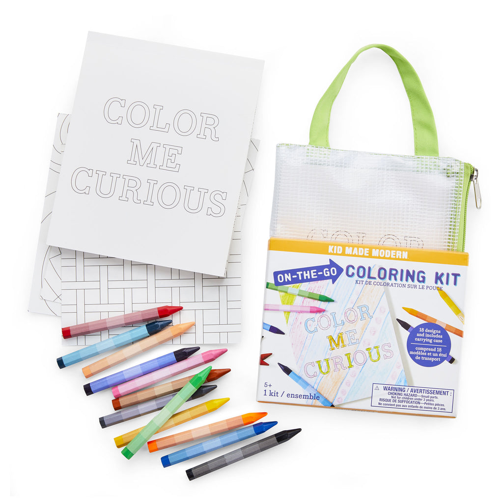 On-The-Go Coloring Kit- NEW